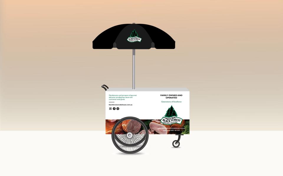 Branded cart