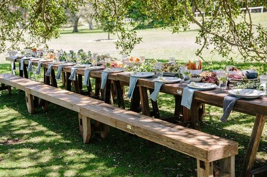 Beer table beer bench hire